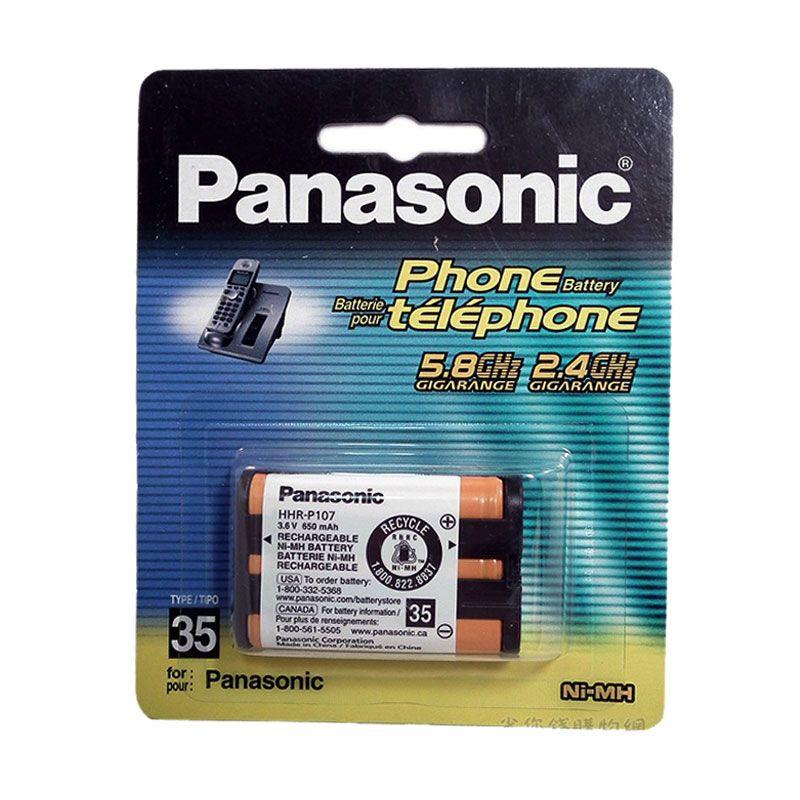 Panasonic HHR-P107 Type 35 Ni-Mh Replacement Battery