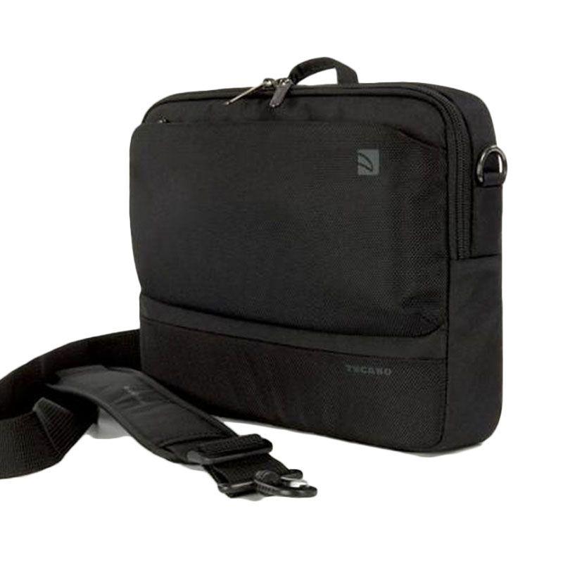Tucano Dritta Slim BDR1314 Black Tas Laptop [13 Inch]