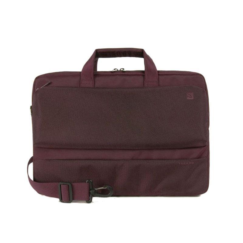 Tucano Dritta Slim BDR1314-BX Burgundy Tas Laptop [13 Inch]