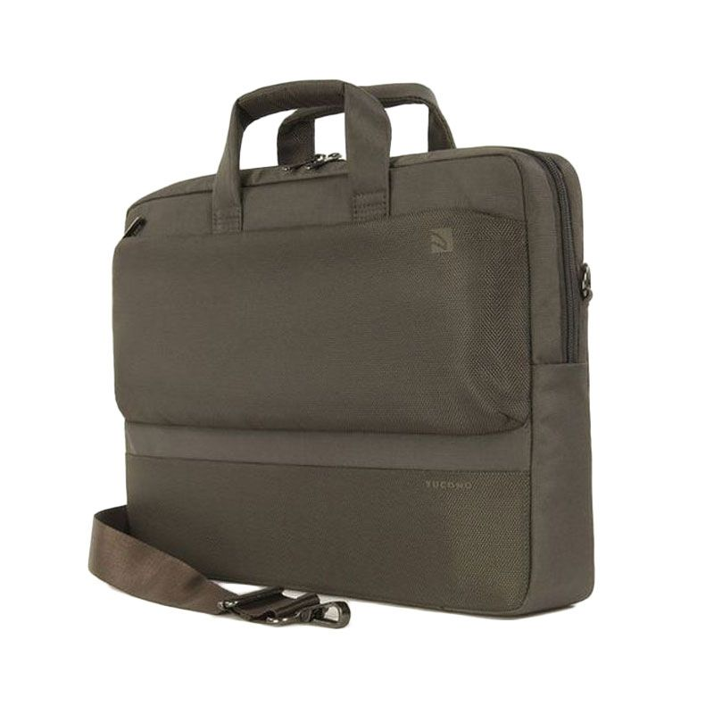 Tucano Dritta Slim BDR15-C Coffee Tas Laptop [15 Inch]