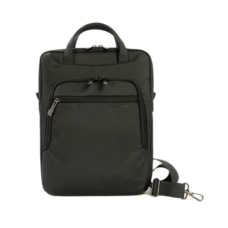 Tucano Work-Out Vertical Bag WO2V-MB11 Black Tas Laptop for Macbook [11 Inch]