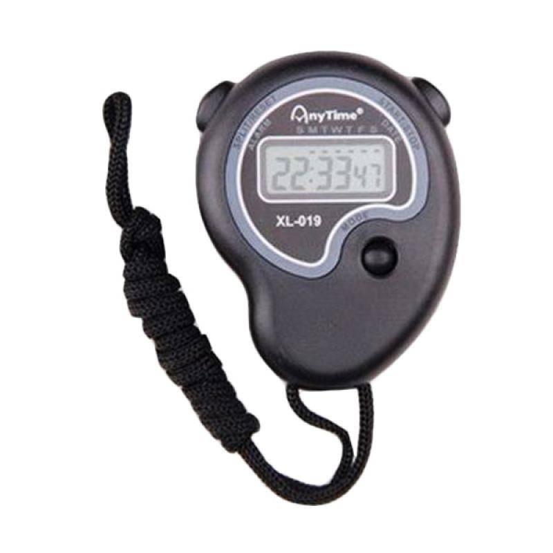 Flextreme Anytime 6192-XL.019 Hitam Stopwatch