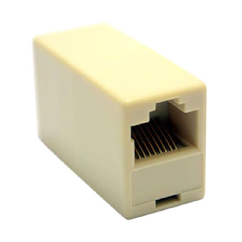 Flextreme Barel UTP RJ-45 Putih Penyambung Kabel