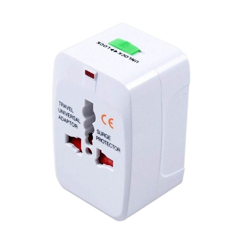 Flextreme Universal Putih Travel Adaptor