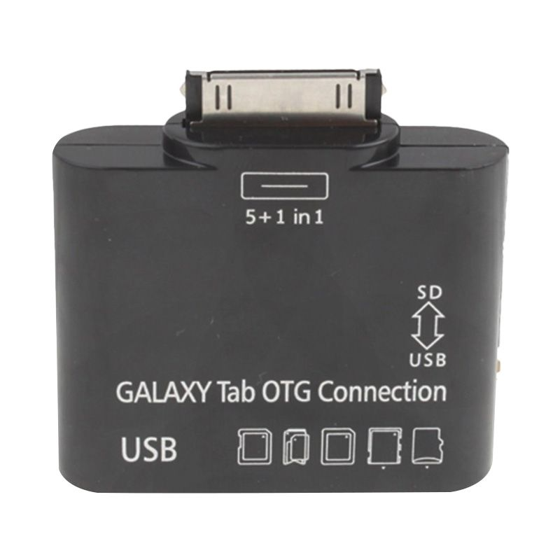 Samsung Connection Kit Hitam USB OTG for Galaxy Tab [5 in 1]
