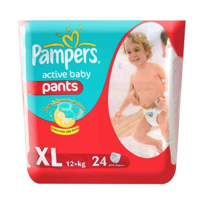 Pampers Popok Active Baby Pants XL 24