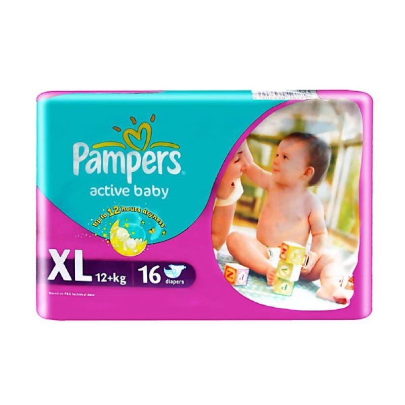 Pampers Popok Active Baby XL 16