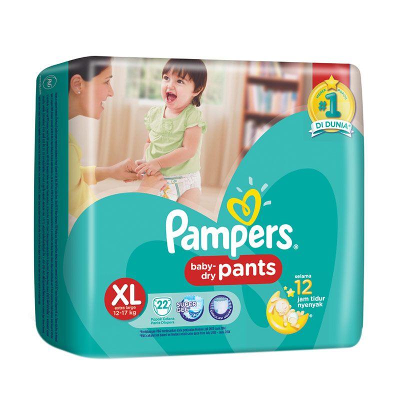 Pampers Baby Dry Pants XL Popok Bayi [22 Pcs]