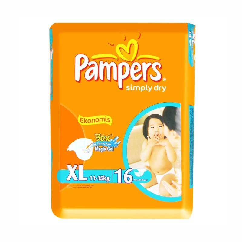 Pampers Popok Ekonomis Diapers XL 16