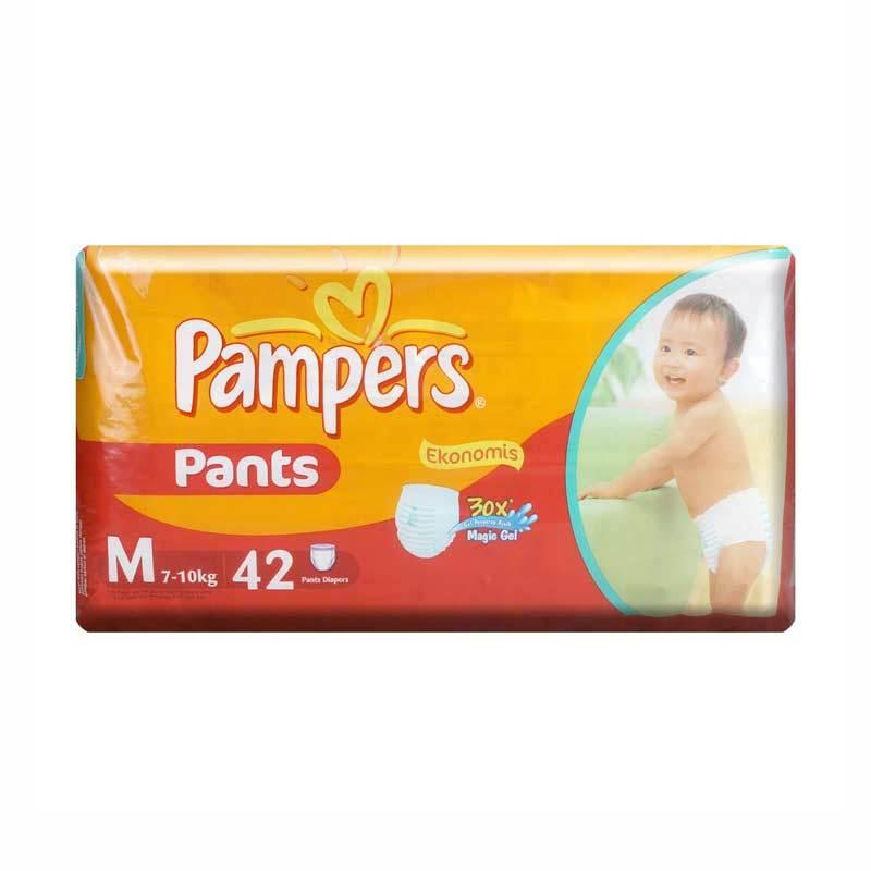 Pampers Popok Ekonomis Pants Diapers M 42