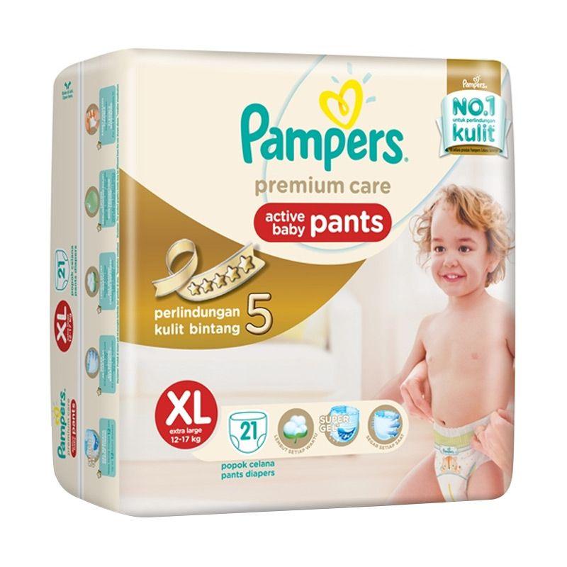 harga Pampers Premium Care Pants XL21 Blibli.com