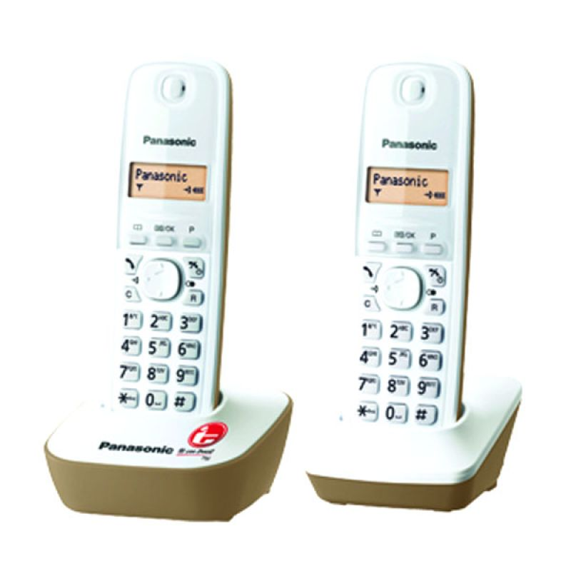 Panasonic Cordless Phone KX-TG1612 Beige