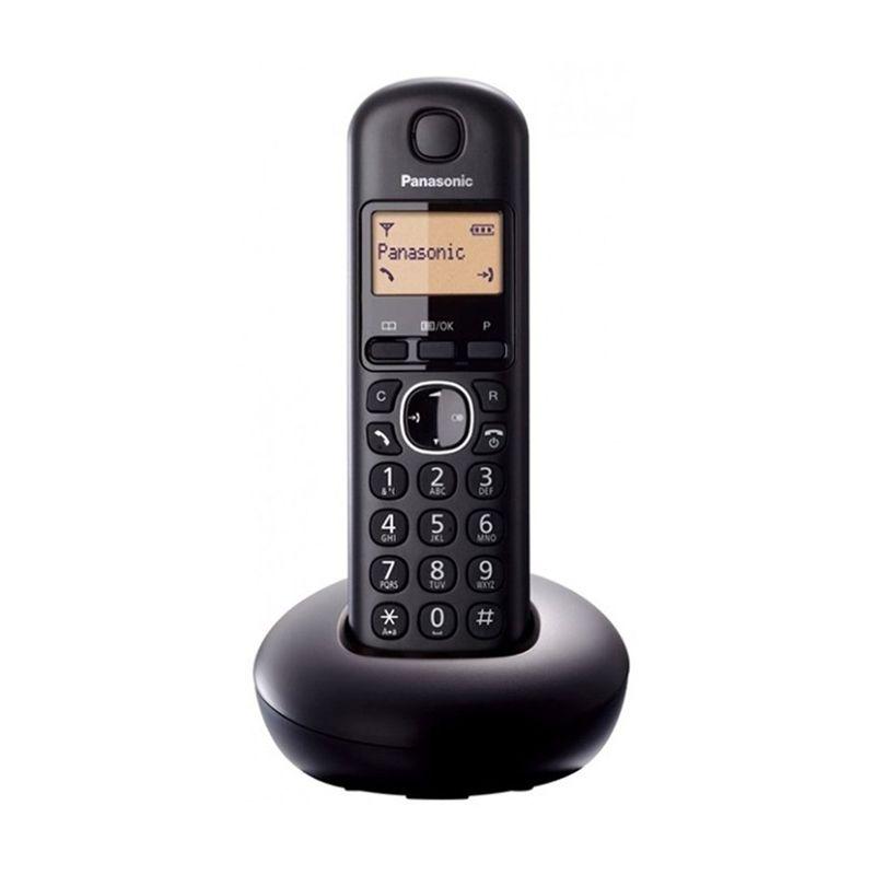 Panasonic Cordless Phone KX-TGB210CX Hitam Telepon