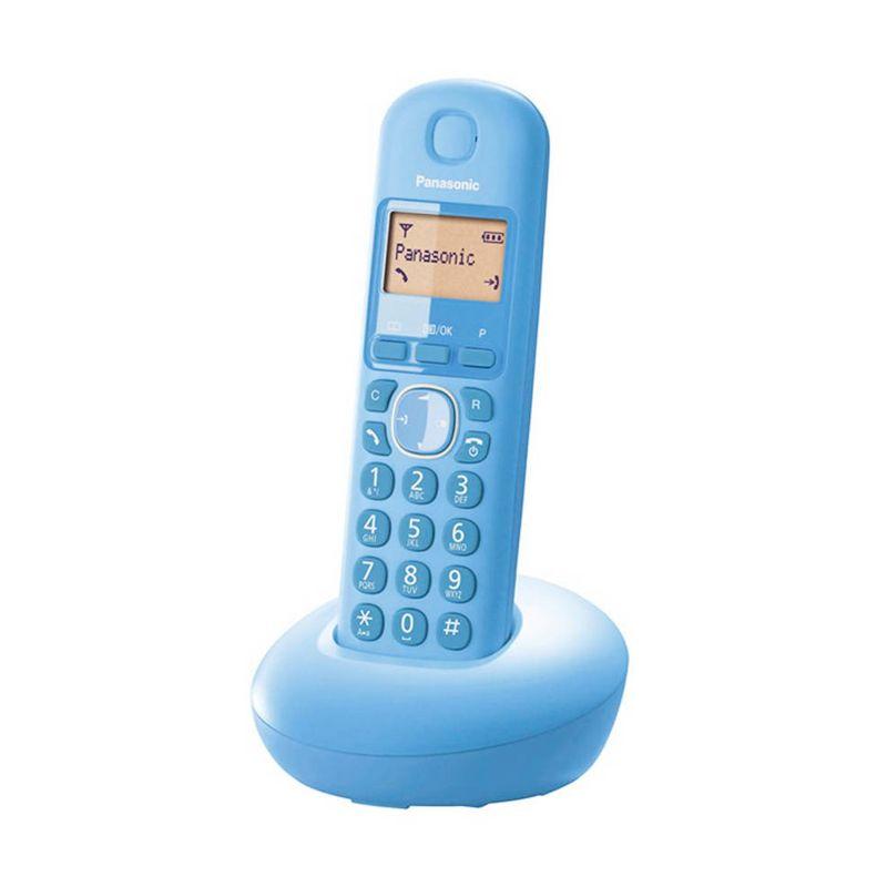 Panasonic Cordless Phone KX-TGB210CX Pastel Blue Telepon