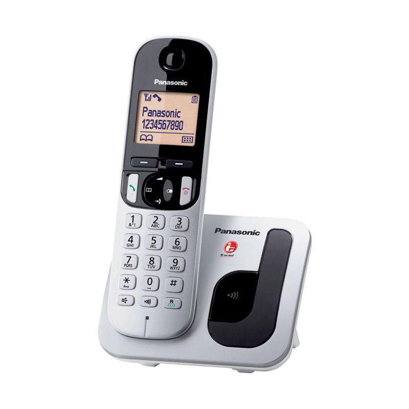 Panasonic Dect Phone KX-TGC210CXS Silver Telepon