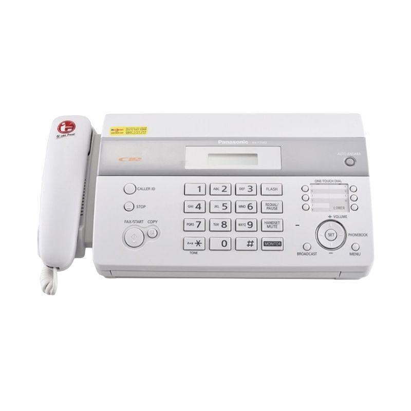 Panasonic KX-FT983CXW White Mesin Fax