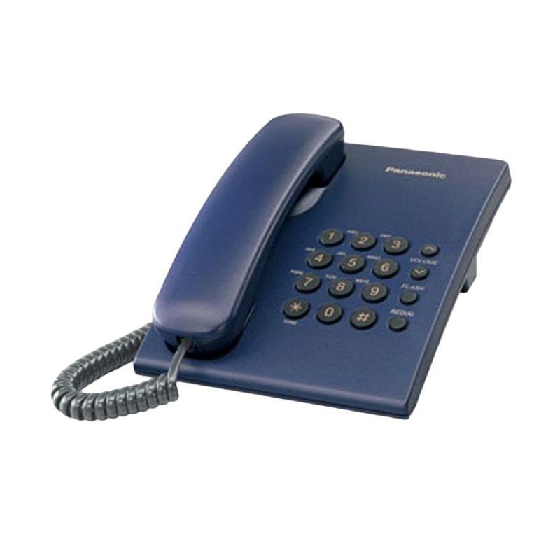 Panasonic KX-TS505MXC Biru Telepon