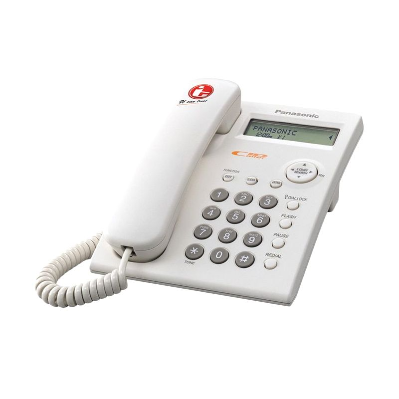 Panasonic KX-TSC11MXW Putih Telepon Kabel