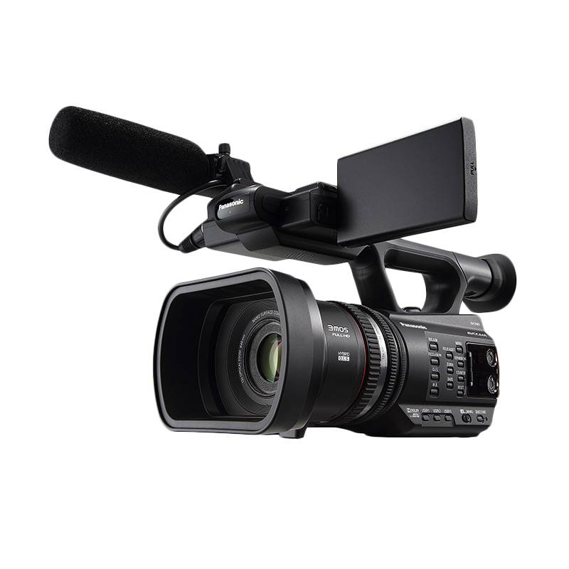 harga Panasonic AG-AC90 Handheld Camcorder - Black + Free LCD Screen Guard Blibli.com