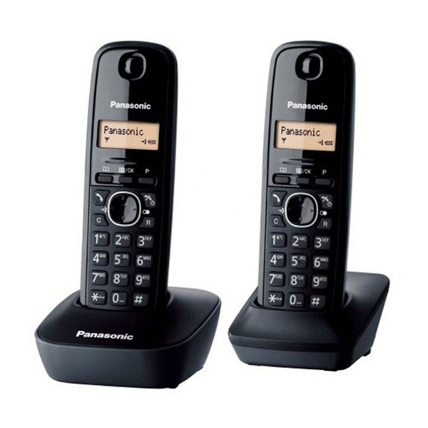 Panasonic Cordless KX-TG1612 Wireless Phone [2 Handsets]
