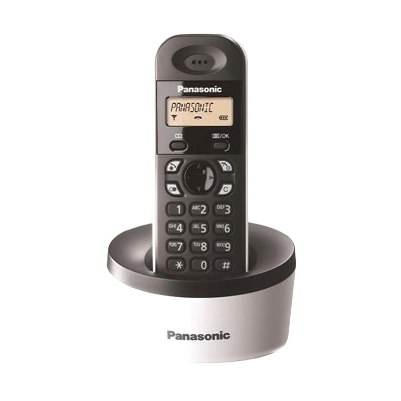 Panasonic KX-TG1312 Cordless Phone Telepon [2 Handsets]