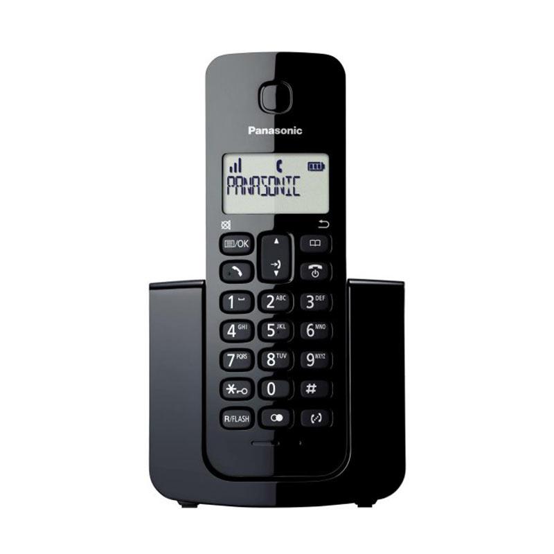 Panasonic Cordless KX-TGB110 Wireless Phone - Hitam