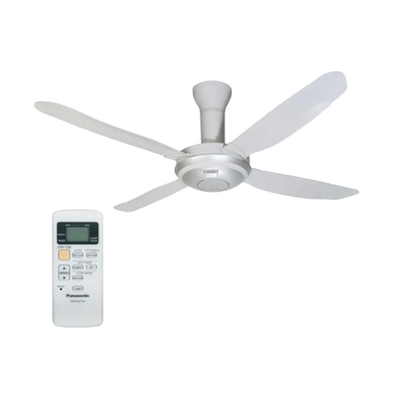 Panasonic F-44SZLTBWTNN Ceiling Fan with Remote Control Extra diskon 7% setiap hari Extra diskon 5% setiap hari Citibank – lebih hemat 10%