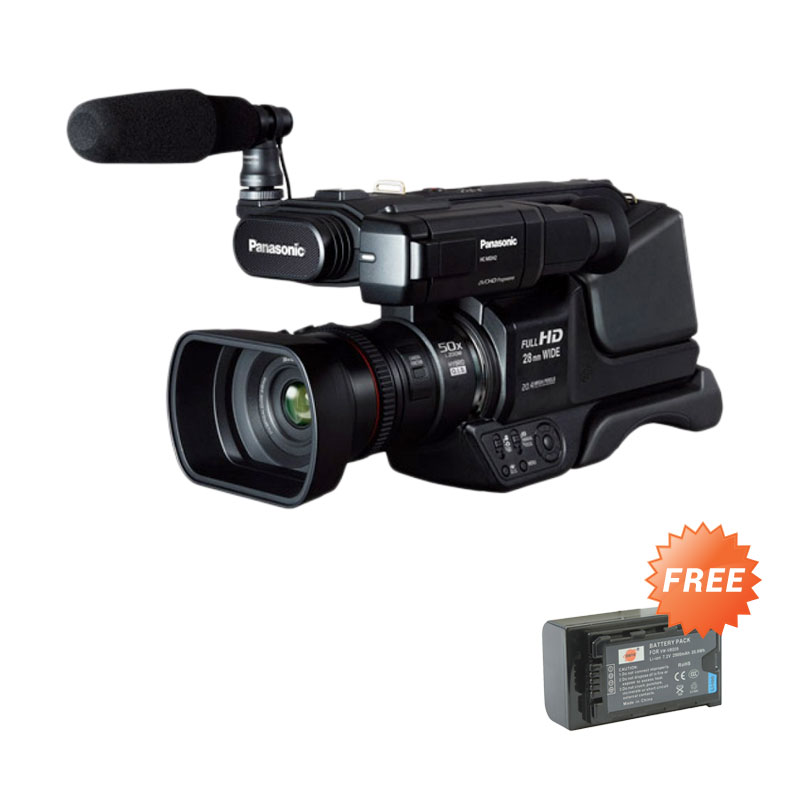 Panasonic HC-MDH2 Full HD Camcorder Extra Battery VBD29 - Hitam