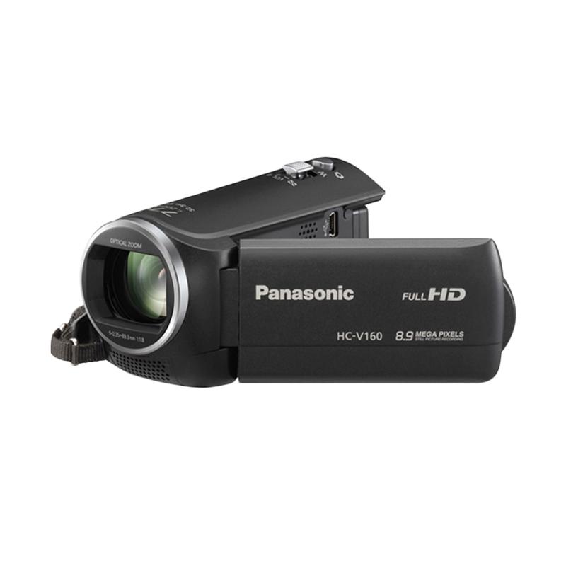 Panasonic HC-V160 Full HD Hitam Camcorder