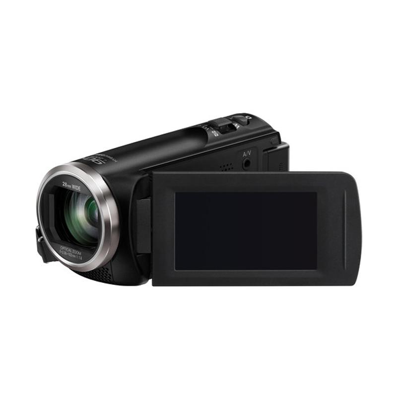 Panasonic HC-V180GA-K Camcorder + SDHC 8GB Extra diskon 7% setiap hari Extra diskon 5% setiap hari Citibank – lebih hemat 10%
