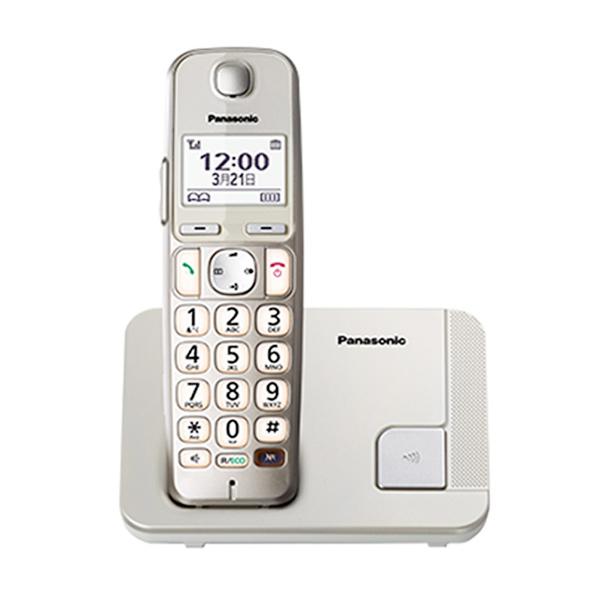 Panasonic KX-TGE210 Wireless Cordless Phone - Silver