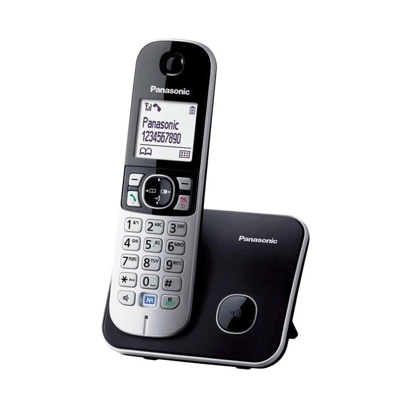 Panasonic KXTG6811CX Telepon Nirkabel Digital - Hitam