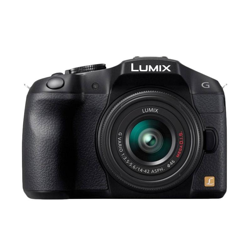 harga Panasonic Lumix DMC-G5X Kit 14-42mm Kamera Mirrorless ( Free Screenguard Terpasang ) Ladang Blibli.com