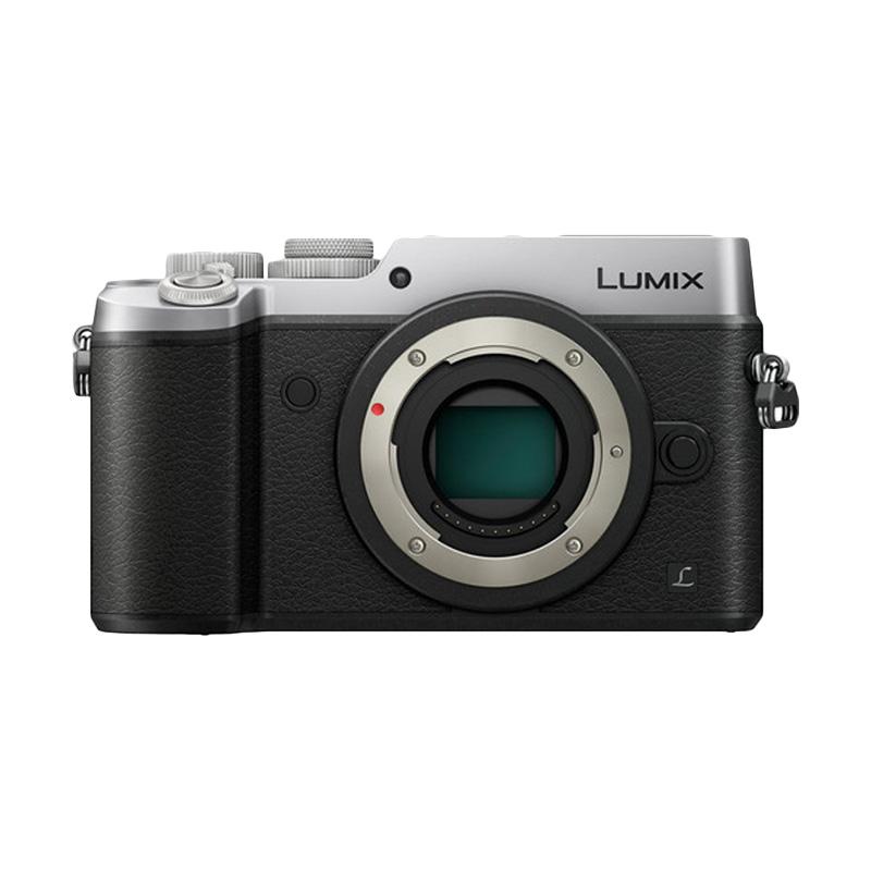 Panasonic Lumix DMC-GX8 Body Only Kamera Mirrorless - Silver