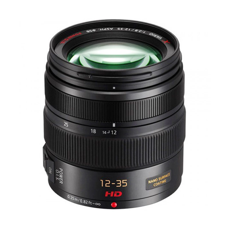 Panasonic Lensa 12-35mm F2.8 Black
