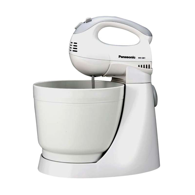 Panasonic MK-GB1WSR Stand Mixer+Bowl [3L/200W] Putih