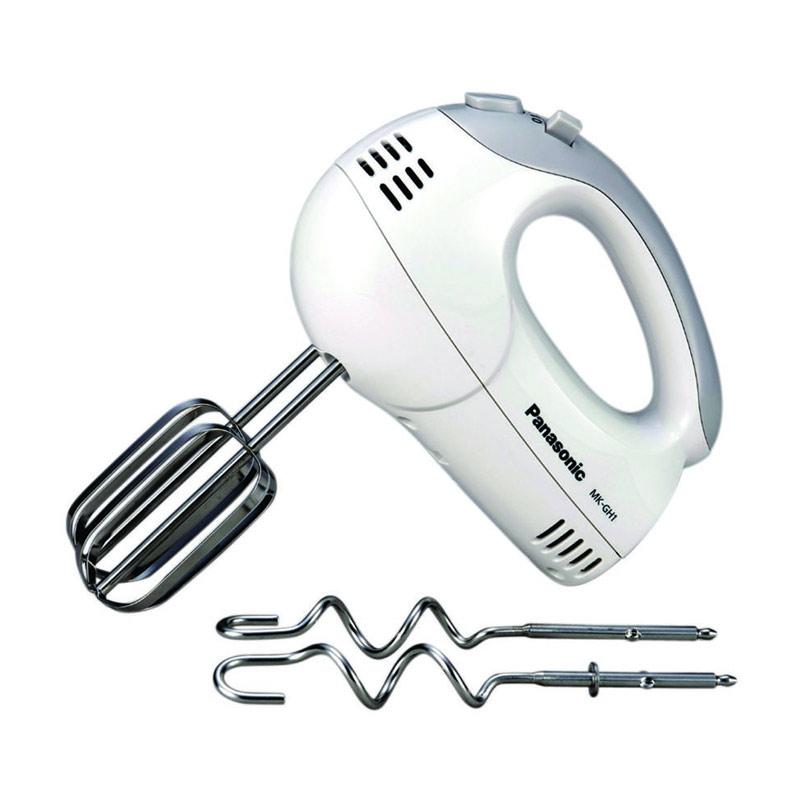 Panasonic MK-GH1WSR Hand Mixer 5Speed [200W] Putih