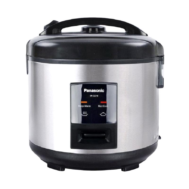 Panasonic SR CEZ18 Rice Cooker [1.8 Liter] Extra diskon 7% setiap hari Extra diskon 5% setiap hari Citibank – lebih hemat 10%