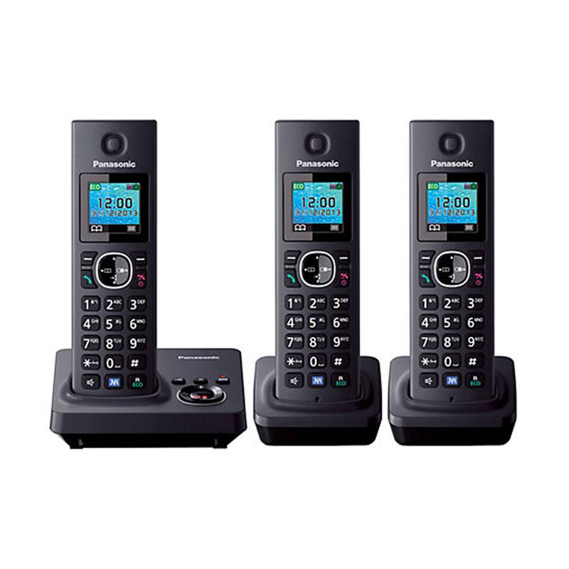 Jual Panasonic Wireless KX-TG7863 Cordless Phone [3