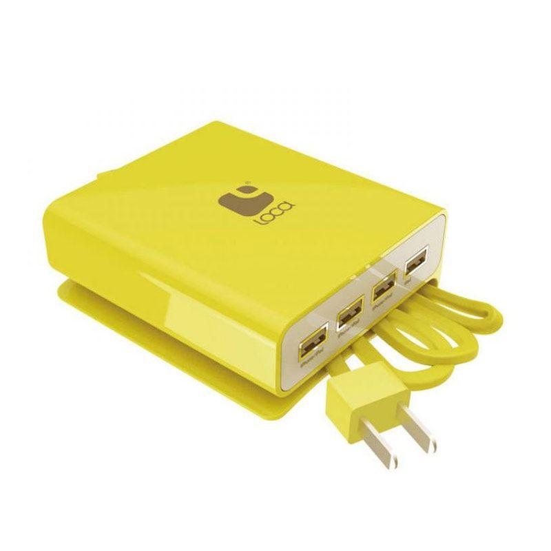 Loca 4U Kuning USB Charger