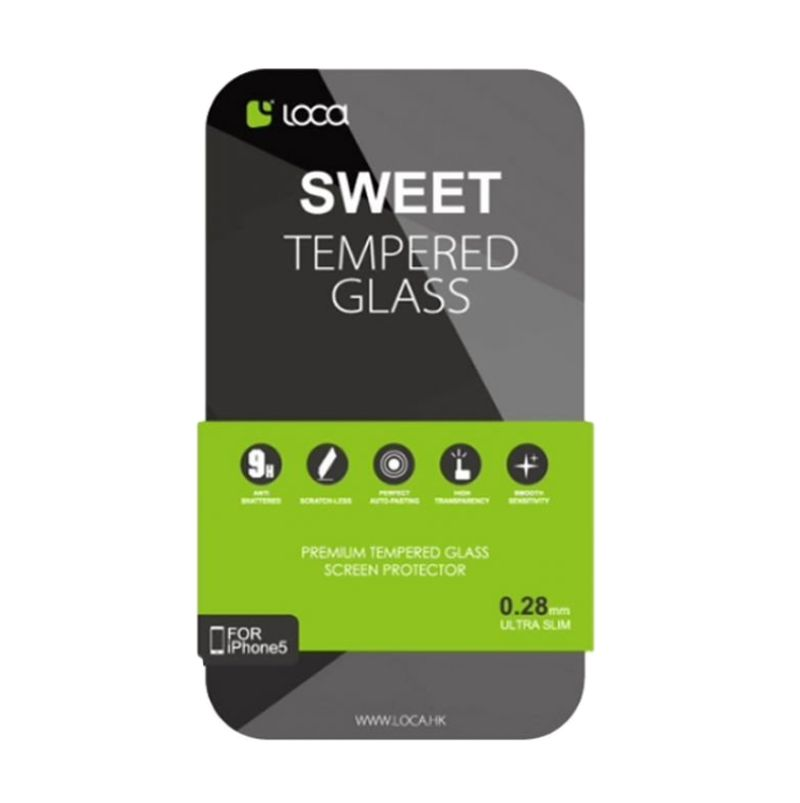 Loca Sweet Tempered Glass Screen Protector for Galaxy S V [0.2 mm]