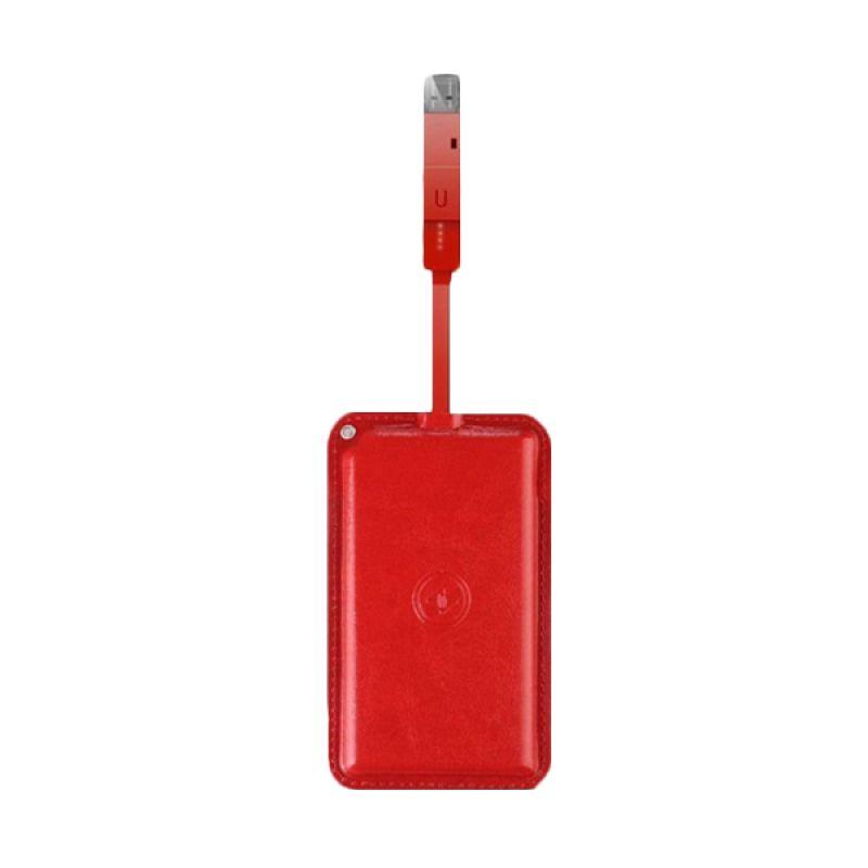 Loca Waterproof Merah Powerbank [5000 mAh]