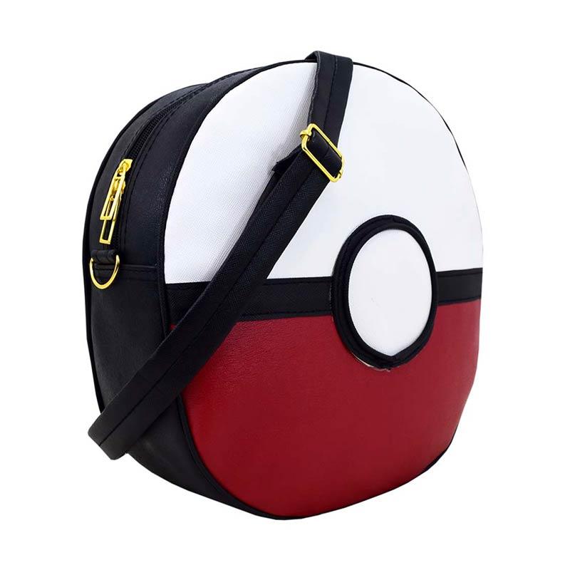 harga Panda Handmade Pokemon Ball Tas Selempang - Merah Blibli.com