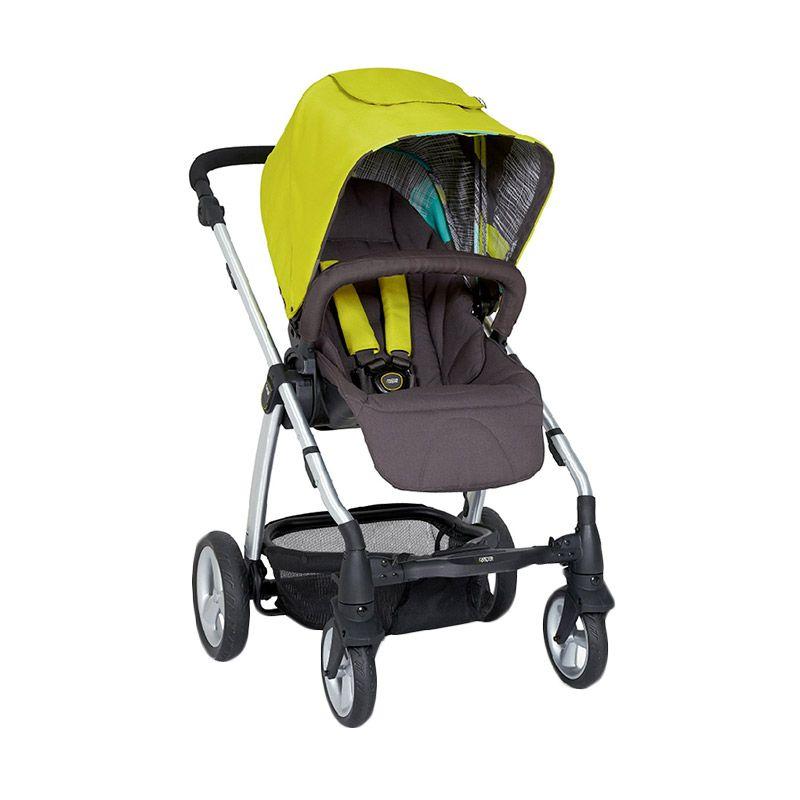harga Mamas n Papas Sola 2 1035916W2 Lime Green Baby Stroller Blibli.com