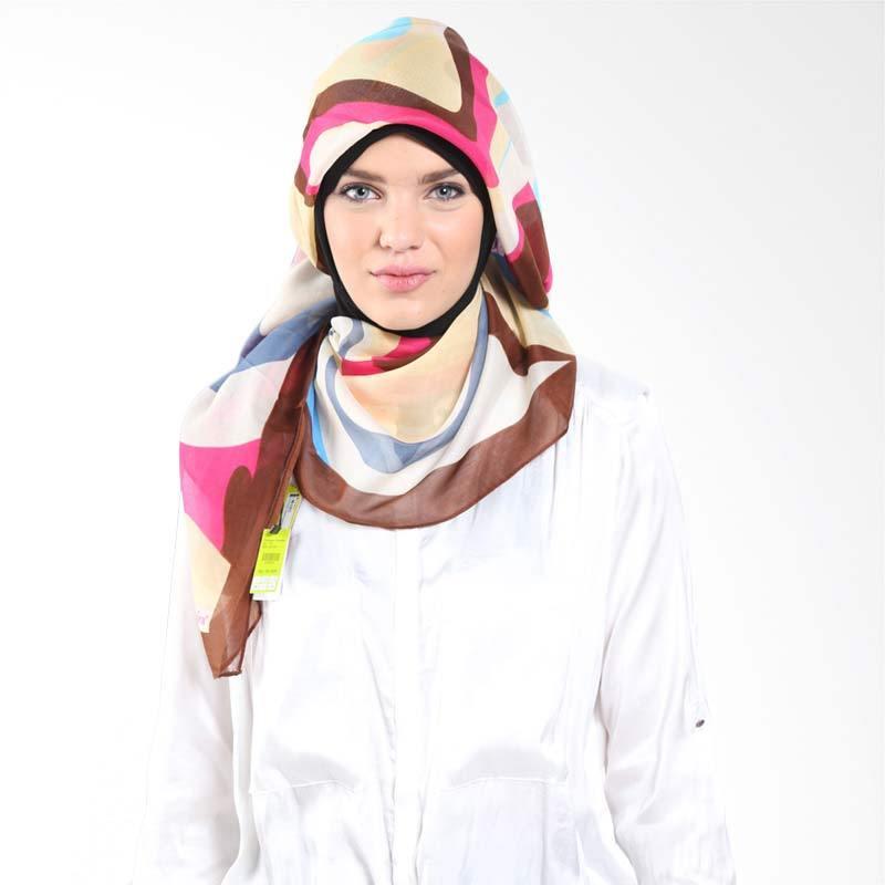 PASMIRA Abstrac 475330 Brown Hijab
