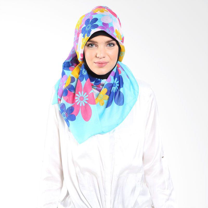 PASMIRA Flower 475329 Blue Mint Hijab