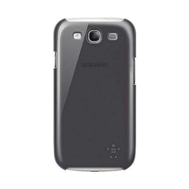 Belkin Case Samsung Galaxy S3 PC SG-16 Opaque Shield Micra Black