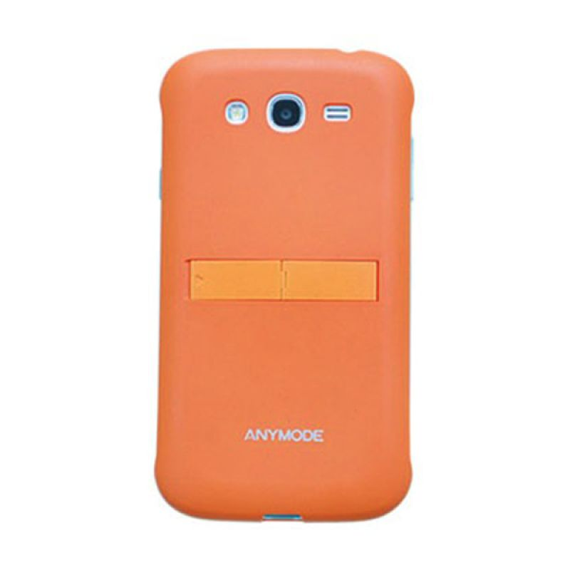 Anymode Kickstand Hardcase For Galaxy Grand Orange