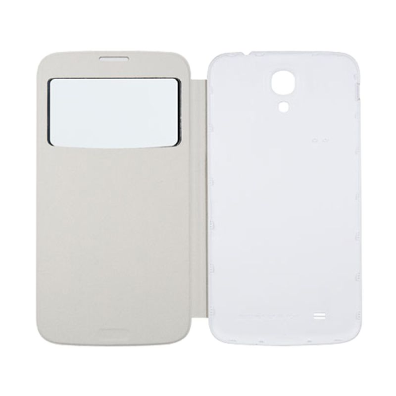 Anymode View Cover Galaxy Mega 6.3 White
