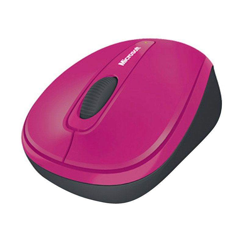 Microsoft Wireless Mobile Mouse 3500 Zinnie Pink